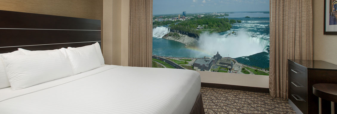 One King Bedroom Suite - Embassy Suites by Hilton Niagara Falls - Fallsview Hotel, Canada