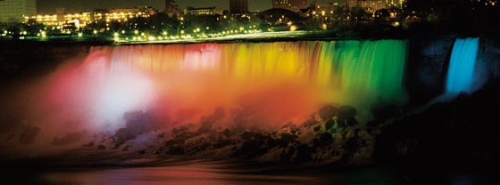 Niagara Falls Nightly Illumination - Embassy Suites by Hilton Niagara Falls - Fallsview Hotel, Canada