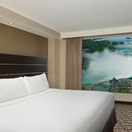 Embassy Suites by Hilton Niagara Falls Fallsview - 1 King Bed - Whirlpool - Canadian Fallsview Suite - 10th - 15th Floor