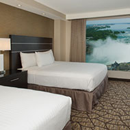 Embassy Suites by Hilton Niagara Falls Fallsview - 2 Beds - 2 Bathrooms - Canadian Fallsview Suite